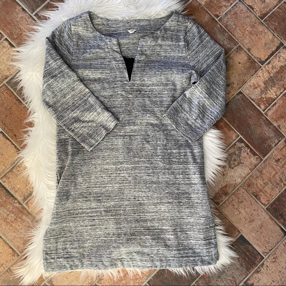 [J. Crew] Heathered Gray Tunic - Size XS